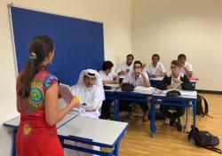 S.E Dr Ali Bin Fetais Al Marri au Lycée Voltaire