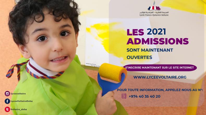 Campagne des inscriptions 2021-2022
