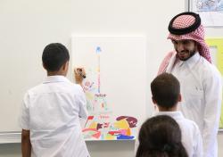 Atelier de l'artiste Ahmed AL MAADHEED