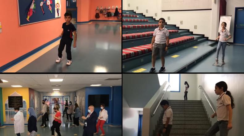 Jerusalema dance challenge au lycée franco-qatarien Voltaire